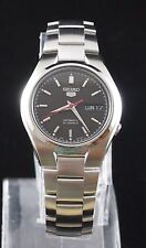 SEIKO 5 SNK607K1 Stainless Steel Band Automatic Men's Black Watch 100% New