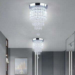 Crystal Ceiling Light Modern Chandelier Hanging Lamp Pendant Lighting Fixtures