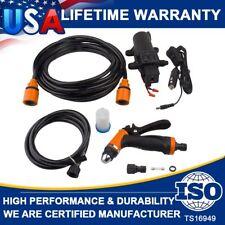 12V Jet Spray Gun 160Psi High Pressure Car Electric Washer Hose Wash Pump Kit Us