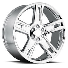 "4) 22"" Chevy GMC 2015 1500 Silverado Chrome Wheels Rims Set 22 24 Sierra"