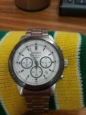 Seiko Chronograph 100m Japan Movement Working 4T53-00A8 r 2 used