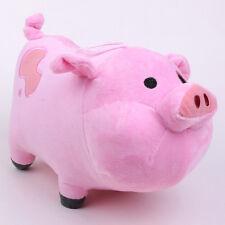 "Gravity Falls Waddles The Pink Pig 8"" Stuffed Animal Plush Toy Doll Gift Kids"
