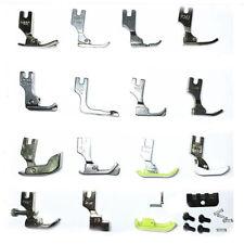 Set of 18 Industrial Sewing Machine Foot Zipper Gathering Shirring Hemming New