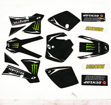 3M MONSTER Decals Graphics Sticker Kit KTM 50 Style Fairing PIT Trail Dirt Bike