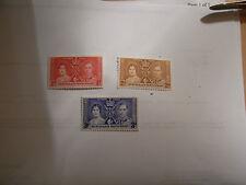 GEORGE VI 1937 CORONATION  BECHUANALAND UN MOUNTED MINT