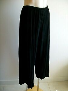 LOVELY PLUS SIZE FLOPPY  PANTS, TS TAKING SHAPE, SIZE 16, ELASTIC WAIST, EX COND