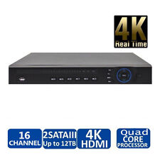 DAHUA NVR4216-4K-S2 16Channel 1U Network Video Recorder with 2TB HDD  Installed