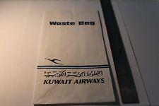 Kuwait Airways Sick Bag  – Good Condition
