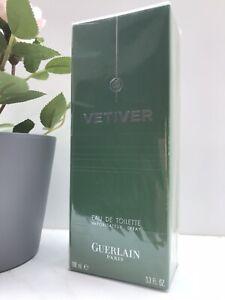GUERLAIN Paris VETIVER Eau De Toilette Spray Herren Parfum 100 ml NEU OVP