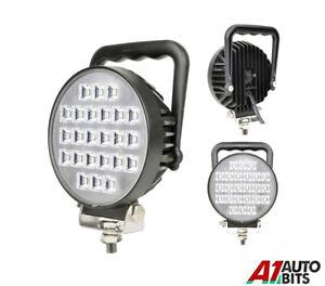 """4.5"""" 24W Round Led 12v 24v Work Combo Light Handled Lamp Off-Road Truck E-Mark"""