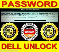Dell 1D3B Passwort System Admin BIOS Password löschen Latitude Unlock Security