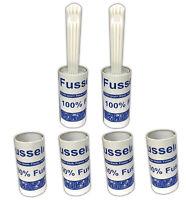 2x Fusselroller inkl. 4 Ersatzrollen | Tierhaare Fussel entfernen | Fusselrolle