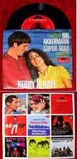 Single Kerry & Kaye: Mr. Akkermann / Super Man (Polydor 52 818) Peter Thomas