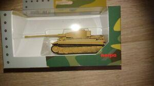 Herpa 746427 - 1/87 Pzkpfw Tiger Version E With 88mm Cc 43L71 - Autumn 1943 -