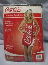 RASTA IMPOSTA  Coca-Cola Tank Dress - COSTUME  Fits Adult Size 4 - 10  ~EUC~