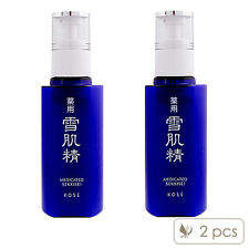 SET OF 2 KOSE Medicated Sekkisei Emulsion 140ml x2= 280ml Moisturizers #2638_2