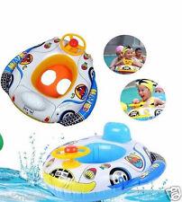 Baby kids Volant Gonflable Natation Flotteur trainer siège voiture ring