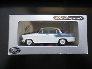 TRAX 1.43 Collectable white and blue Holden FC Special Sedan TR13K