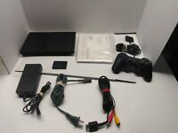 Sony SLIM PS2 Console SCPH-79001 w/ OEM Controller, Memory Card & Cords TESTED!