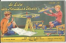 Brochure Jouets Magasin « Au Train Bleu » - Paris – 1938-39 – Trains Hornby