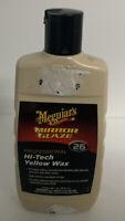 Meguiar's M2616 Mirror Glaze Hi-Tech Yellow Wax, 16 oz. New