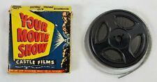 VINTAGE 8mm YOUR MOVIE SHOW #570 PRAIRIE PIRATES Castle Films