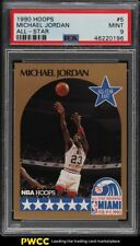 1990 Hoops All-Star Michael Jordan #5 PSA 9 MINT