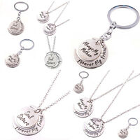 Family Best Friend Mother Daughter Sister Pendant Necklace Keyring Keychain New