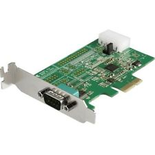 Startech 1-port PCI Express RS232 Serial Adapter Card - PCIe Serial DB9 Controll