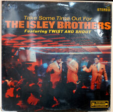 ISLEY BROTHERS~TAKE SOME TIME OUT~ULTRA-RARE SEALED ORIG '64 SCEPTER STEREO LP