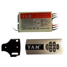 NEW Wireless Remote Control Switch, 110-125V, 4 channel x 1000W Evrosvet