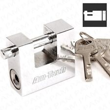 50mm Shutter Padlock HIGH SECURITY Container/Garage Lock Secure Strong Shackle