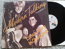 Modern Talking - Lonely tears in Chinatown 12'' Disco Vinyl SPAIN only