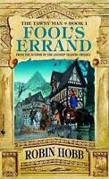 FOOL'S ERRAND by Robin Hobb FREE SHIPPING paperback book Tawny Man Trilogy 1