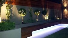 5M - 16.3ft Landscape Decking Garden Outside Led Strip Lighting 5050 Cool White