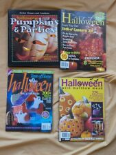 4 BK HALLOWEEN Child & Adult Party Planning Recipes Games Costumes Favors
