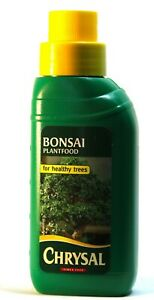 Chrysal Bonsai liquid feed 250Ml - you choose the quantity