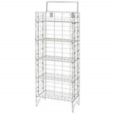 Only Hangers Snack Display Rack - Silver