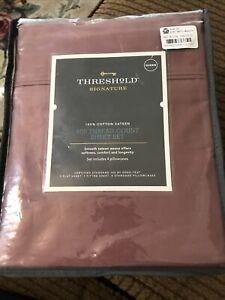 Threshold Signature  800  Thread Count Cotton Sheet Set - Queen Size