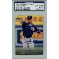 DEREK JETER Autographed Yankees 1995 Minor League RC #1 UD Card PSA/DNA