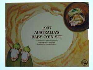 1997 Royal Australian Mint Gumnut Baby Uncirculated Coin Set
