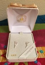 Disney Park Authentic Earrings Sterling Silver 925 Tinker Bell Boxed Gift