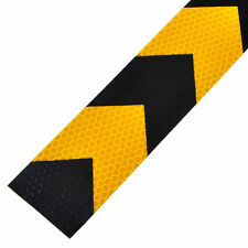 1x Car Safety Reflective Self Adhesive Hazard Caution Warning Tape Roll Sticker