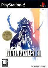 Final FANTASY XII PAL PS2 (nuevo Y Sellado)