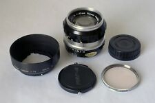 Nikon 50mm f/1.4 Nikkor-S Non-AI Lens Barely Used Hard to Find Signs of Wear