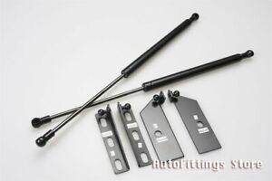Fit Mitsubishi Lancer Evolution EVO 4 5 6 Bonnet Hood Lift Support Damper Kit