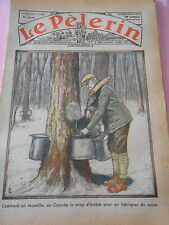 Comment on recueille au Canada du sirop d'érable Dessins Print 1934