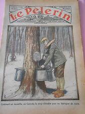 Comment on recueille au Canada du sirop d'érable Dessins Print 1934