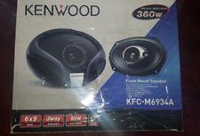 Kenwood KFC M6934A 6x9 3 altavoces de coche de forma