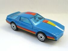 Matchbox Superfast 51e Pontiac Firebird SE - Blue/Black - Starburst Wheels